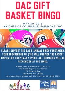 Basket Bingo 2018 Snip