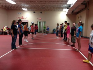 Line dancing gym