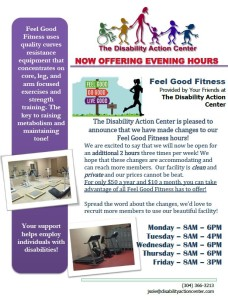DAC Feel Good Fitness  Extended Hours