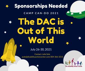 DAC Camp CAN-DO Sponsorship Ad 2021